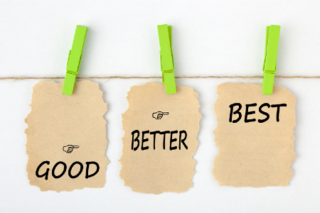 Benchmarking won't improve performance if we just compare the numbers. Credit: https://www.istockphoto.com/portfolio/ogichobanov