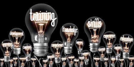 Light bulbs with concepts illuminated within. Credit: https://www.istockphoto.com/portfolio/etiammos