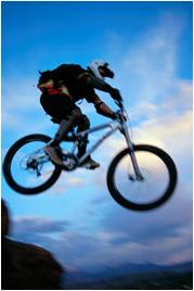 mountainbikejumping