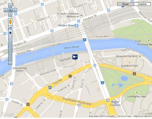Quay West Suites Map 2