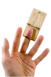 fingerinmousetrap