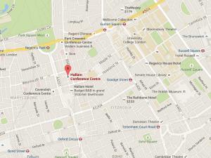 Hallam Conference Centre - Map