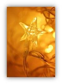 golden fairy lights